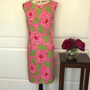 Tablots Pink and Green Floral Sheath